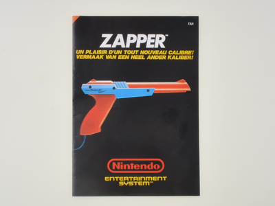 Nintendo NES Zapper Manual