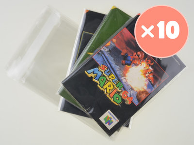 10x Nintendo 64 Manual Bag