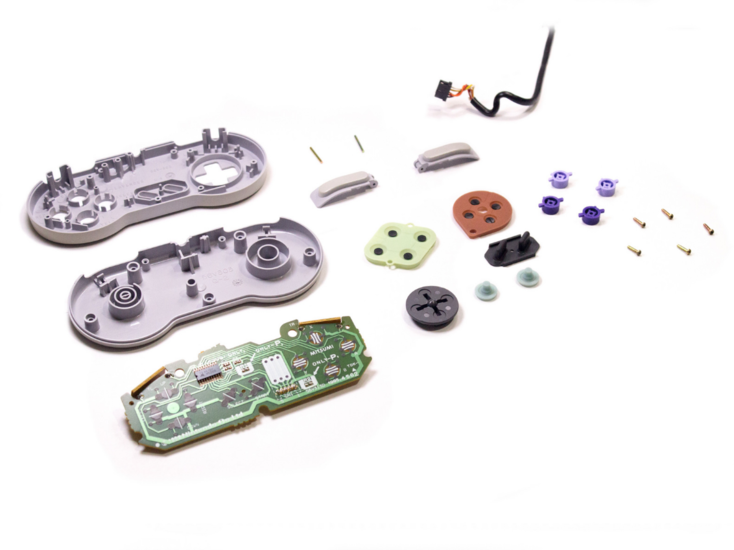 SNES Controller Repareren - DIY Guide Tutorial