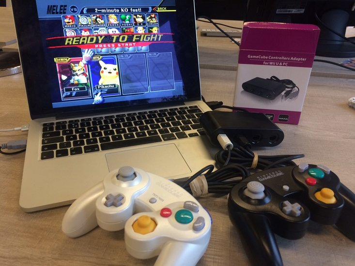Gamecube USB Adapter - Super Smash Bros Melee