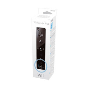 Wii Remote Motion Plus Black [boxed]