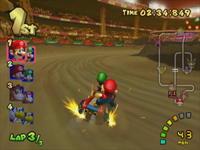 Gamecube Screenshot Mario Kart Double Dash