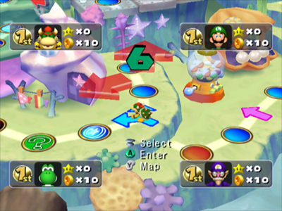 Gamecube Screenshot Mario Party 5