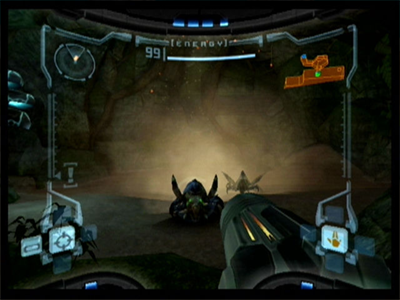 Gamecube Screenshot Metroid Prime