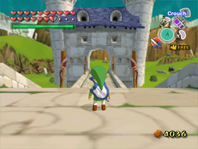Gamecube Screenshot The Legend of Zelda The Windwaker