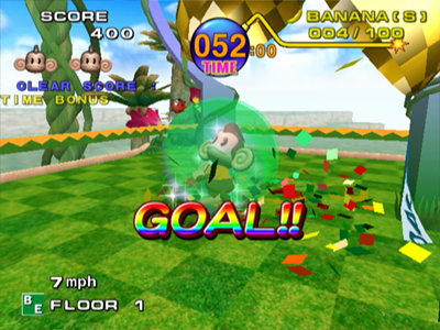 Gamecube Screenshot Super Monkey Ball
