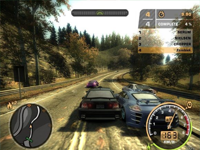 Gamecube Screenshot Need for Speed Most Wanted