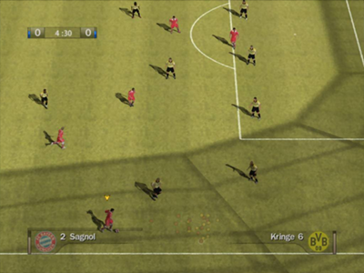 Gamecube Screenshot FIFA 07