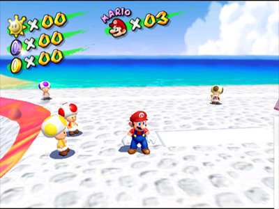 Gamecube Screenshot Super Mario Sunshine