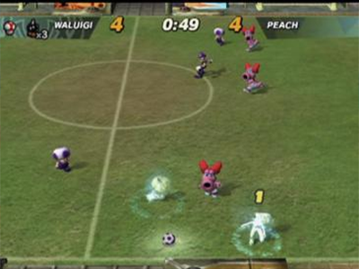 Gamecube Screenshot Mario Smash Football