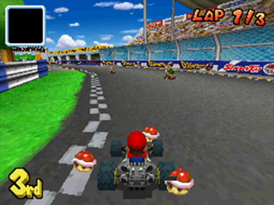 Nintendo DS Screenshot Mario Kart DS