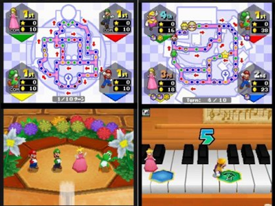Nintendo DS Screenshot Mario Party DS