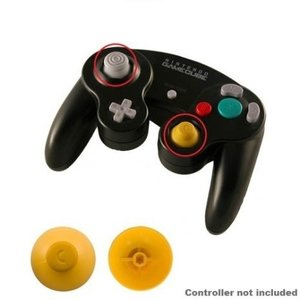 GameCube Replacement Analog Cap (Yellow)