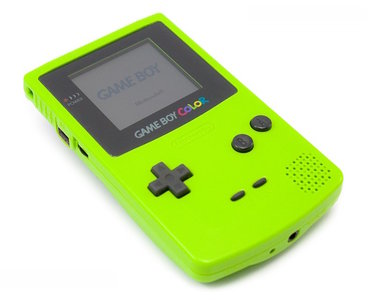 Nintendo Gameboy Color Lime
