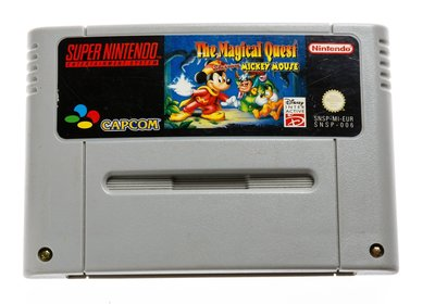 Magical Quest Starring Mickey Mouse SNES Cart
