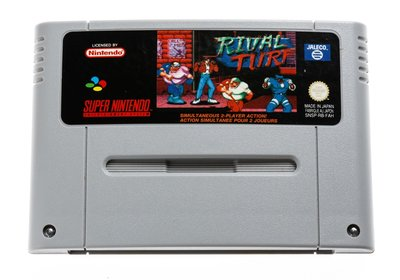 Rival Turf SNES Cart
