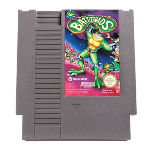 Battletoads NES Cart