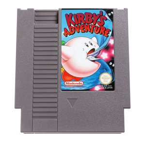 Kirby's Adventure NES Cart