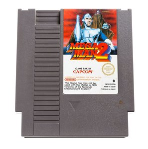Mega Man 2 NES Cart