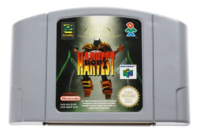 Body Harvest N64 Cart