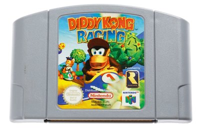 Diddy Kong Racing N64 Cart