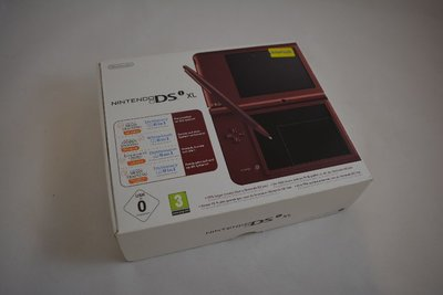 Nintendo DSi XL Bordeaux (Box Only)