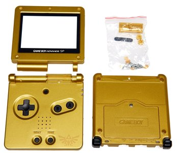 Gameboy Advance SP Shell Zelda Edition
