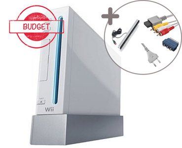 Nintendo Wii Console White Budget