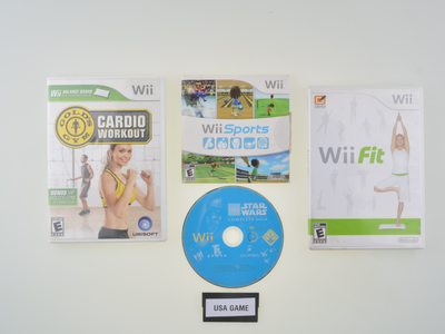 [NTSC] 4 Wii games Bundle - Wii - Outlet